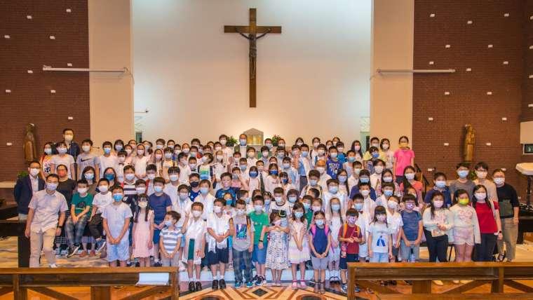 2021 初領聖體 主日學結業禮 (二)